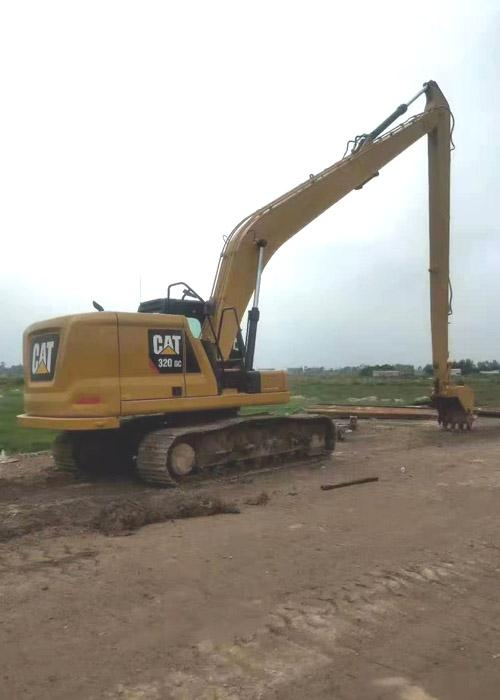 Caterpillar Mini Excavator Long Reach / 320C Excavator Stick Extension