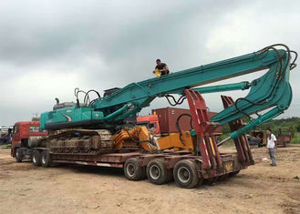 China Kobelco Sk460 Excavator Boom Arm Long Special Design For Pile Driver Work supplier