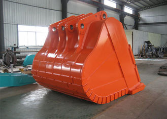 China Komatsu Excavator Rock Bucket 10 CBM 80mm Hardox450 Side Plate Thickness supplier
