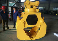 Customized Mini Excavator Attachments Q345B Hardox Material Worm Pump Double Cylinder