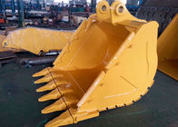 Wheeled Excavator Rock Bucket Extension CAT336 V Ditching Bucket With 6 Teeth