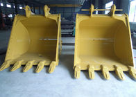 Tilting Heavy Duty Bucket , Mini Digger Buckets Wearable 20 Mm Hardox450 Side Reinforced