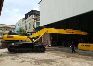 Yellow Cat Long Reach , Excavator Boom Arm Sumitomo SH380 With 1.2 Cum Sand Bucket