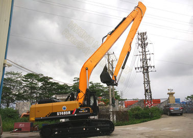 China Professional Mini Excavator Extendable Arm  , Cat Excavator Parts With 1.2 Cum Bucket factory