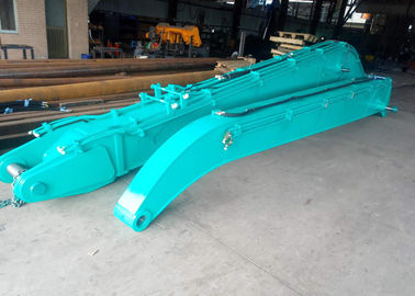 China SK380 Material Handling Arm , Kobelco Excavator Parts 16 Meters Long 3 Cum Bucket distributor