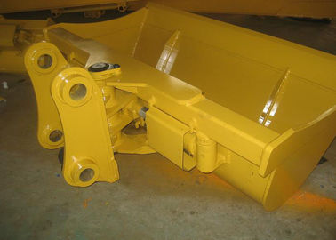 China 2 Cylinders Mini Excavator Buckets , Tilting Grading Bucket Professional Balanced Structure distributor