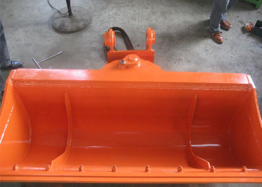China High Efficiency Excavator Tilt Bucket , Excavator Tilt Hitch Hitachi ZX120 With Bolted Edge distributor