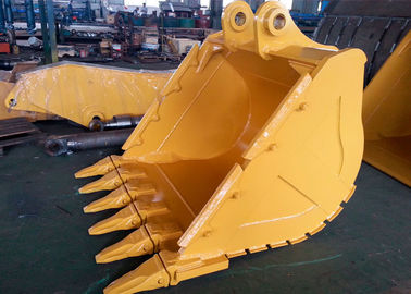 China Wheeled Excavator Rock Bucket Extension CAT336 V Ditching Bucket With 6 Teeth distributor