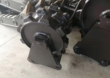 China High Precision Excavator Compaction Wheel For 30~40 Ton Excavator Machine distributor